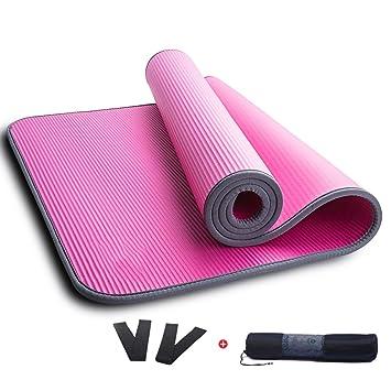 Esteras de yoga para principiantes para alargar y ensanchar ...