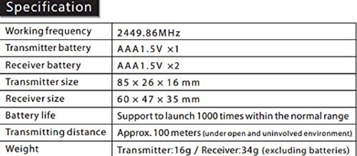 VILTROX JY-120-C1 wireless remote shutter release for Canon EOS camera 70D 60Da 60D T6s T6i T5i T3i T5 T3 1200D 760D 100D 550D 1100D by VILTROX