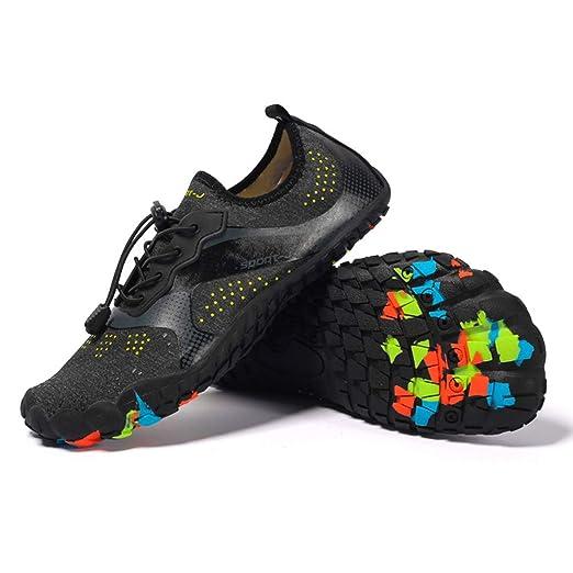 Mryhpe Zapatos de Agua para Hombre Calzado Deportivo con ...