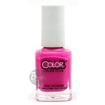 Amazon.com : Color Club Nail Lacquer Peace Out Purple AN23 : Nail ...