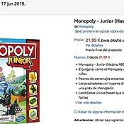 Monopoly - Junior (Versión Española) (Hasbro A6984793): Amazon.es: Juguetes y juegos