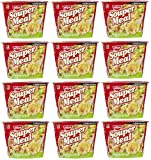 Nissin Souper Meal Bowl Noodle Instant Noodle Soup Picante Shrimp (Hot & Spicy)- 12 Packs of 4.03 Oz For Sale