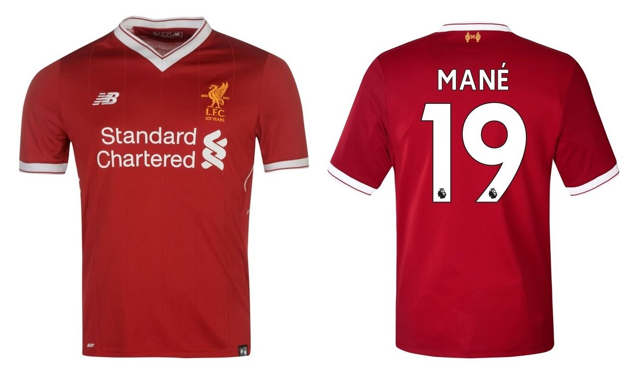 Trikot Kinder FC Liverpool 2017-2018 Home - Mané 19