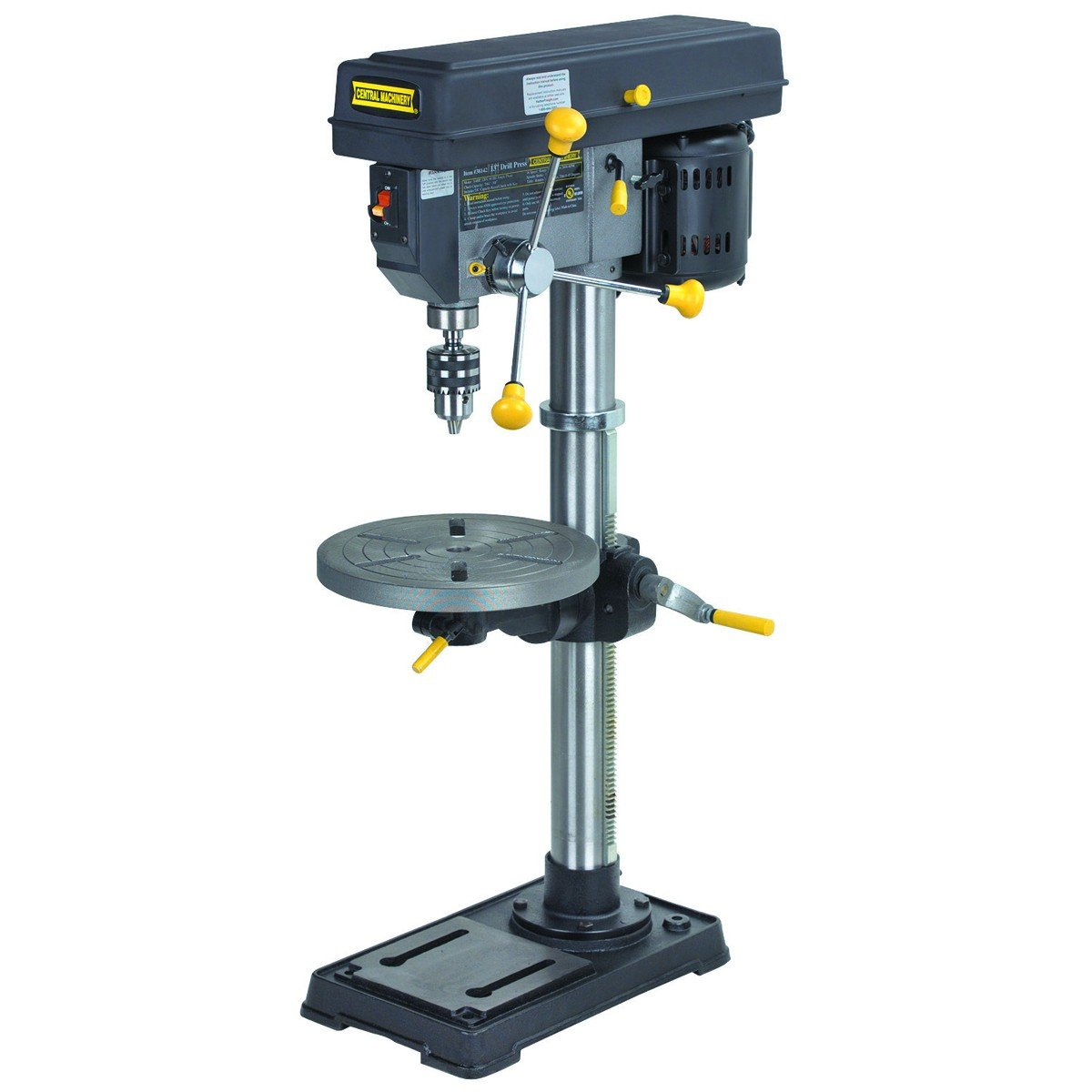 Central Machinery # 38142 16 Speed Heavy Duty Bench Drill Press