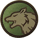 Wolf Head Morale Patch (Multicam (OCP))