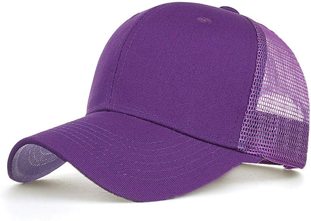 BAIELFES Snapback Cap with Shining Visor Metal M for Women Baseball Cap B424