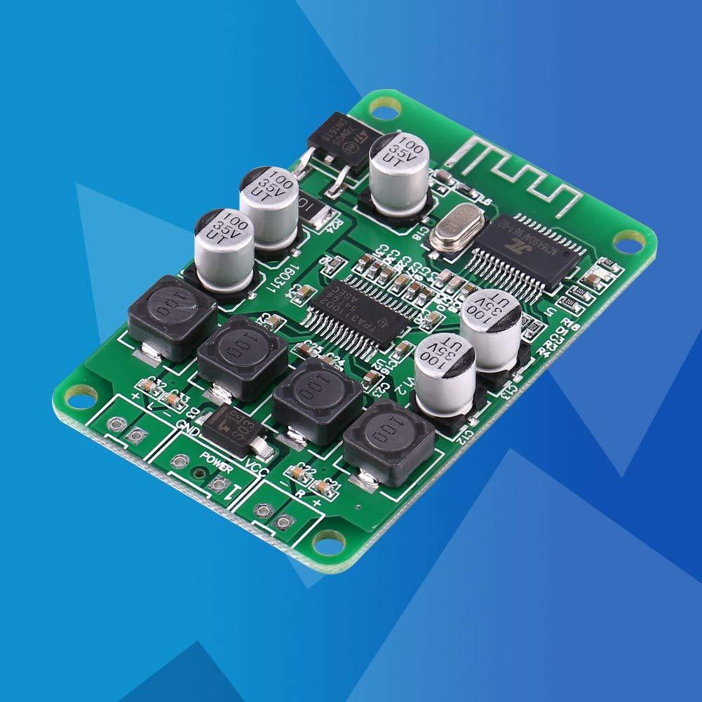 TPA3110 2x15W Placa de Amplificador de Potencia de Audio Bluetooth AMP para Altavoz Placa de rel/é USB Amplificador electr/ónico Lecxin M/ódulo Amplificador de Potencia