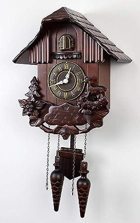 SXWY Reloj De Cuco, Reloj De Cuco De La Selva Negra, Reloj De La Selva Negra, ...