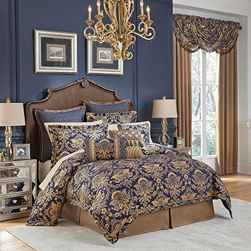 CROSCILL Cordero Queen Comforter Set, 4 Piece