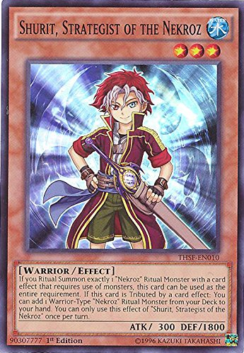 Yu-Gi-Oh! - Shurit, Strategist of the Nekroz (THSF-EN010) - The Secret Forces - 1st Edition - Super Rare