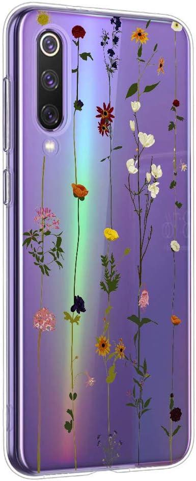 Oihxse Mandala Flores Encaje Patrón Serie Case Compatible con Samsung Galaxy J510 Funda TPU Silicona Suave Protector Ultra Slim Anti-Rasguño Transparente Carcasa (A14)
