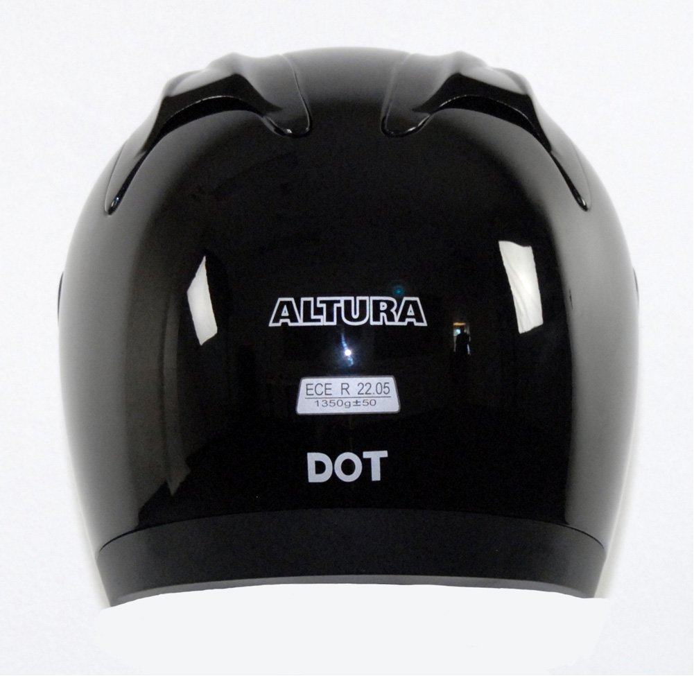 Silver, XX-Large Vega Altura Full Face Helmet 5200-116