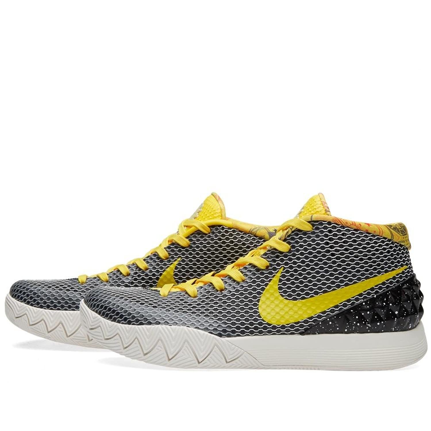 e60644e0c97be discount code for nike kyrie 1 black tour yellow sail light bone ...