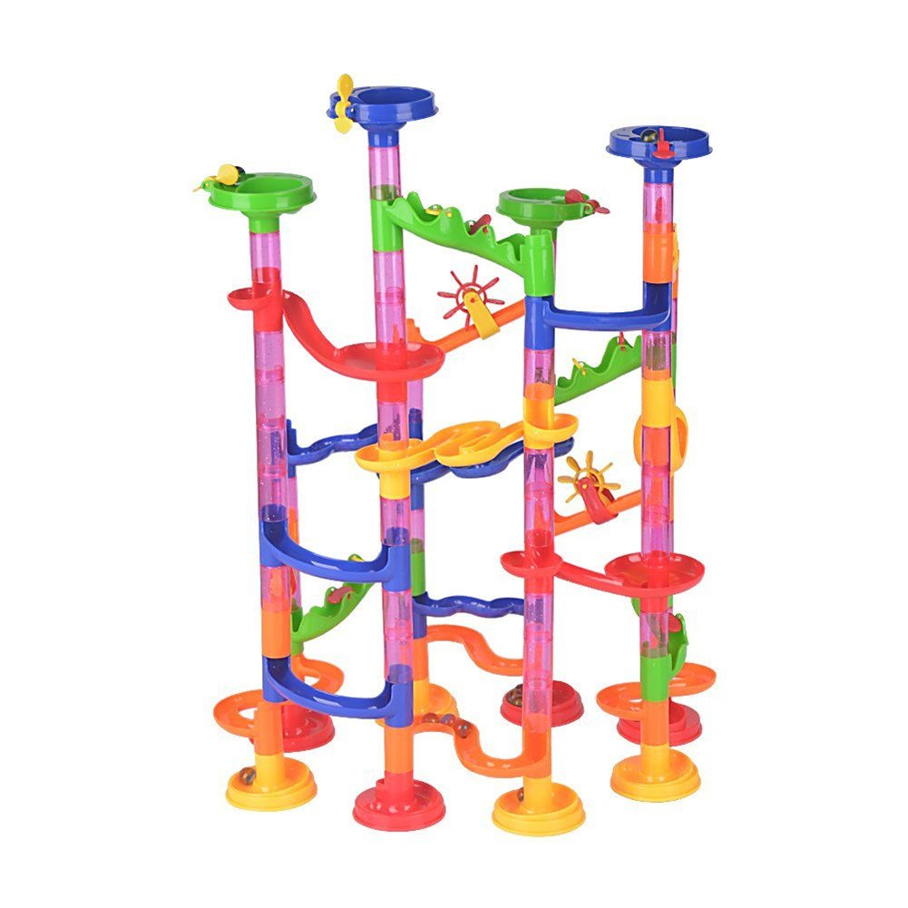 Translucent Marble Run Set
