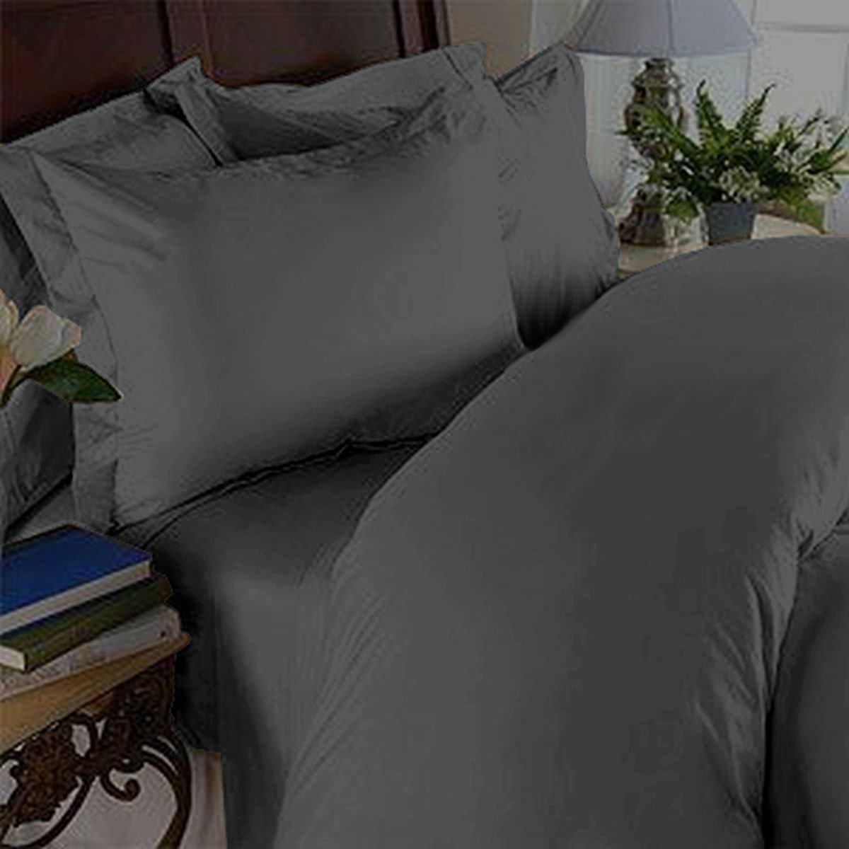 Elegant Comfort 3 Piece 1500 Thread Count Luxury Ultra Soft Egyptian Quality Coziest Duvet Cover Set