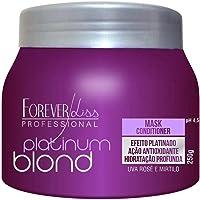 Máscara Platinum Blond Matizadora, FOREVER LISS, Roxo, 250gr