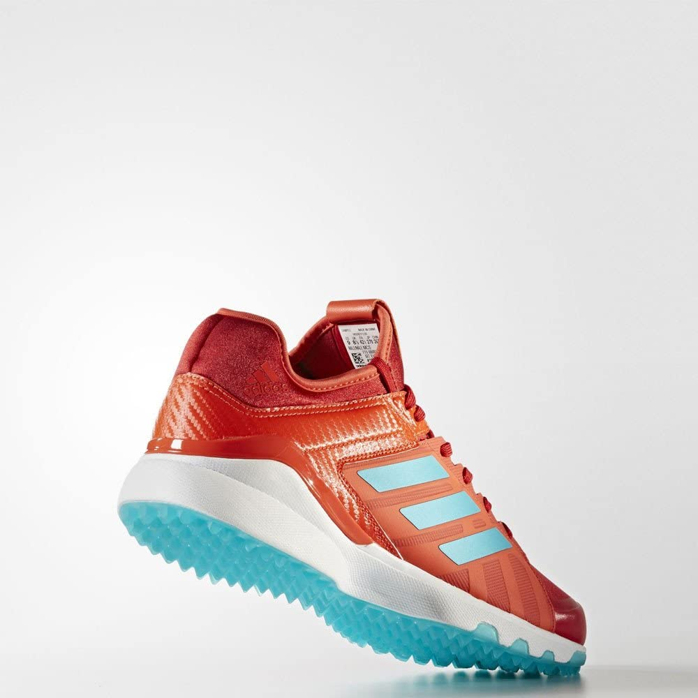adidas Performance Mens Lux Field Hockey Trainers Red Orange