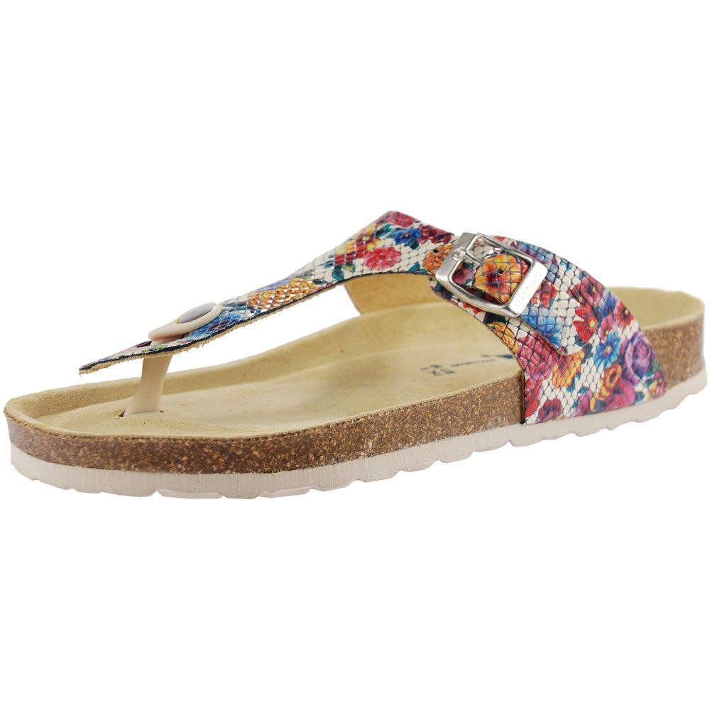 3463197c24de Sanosan Geneve Africa Ladies Toe Post Sandals Multi  Amazon.co.uk  Shoes    Bags