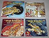 The Magic School Bus set: (Explores the Senses; Inside the Earth; Inside the Human Body; Inside a Hurricane)