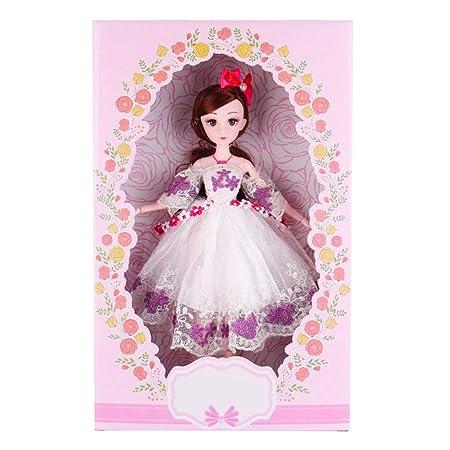 MEMIND Encantadora muñeca 30/45 cm Cantar muñeca Vestido de ...