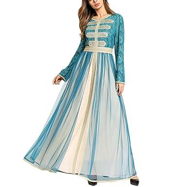 Zhhlinyuan Chiffon Arabischen Hochzeit Abendkleid Kaftan Kleider für ...