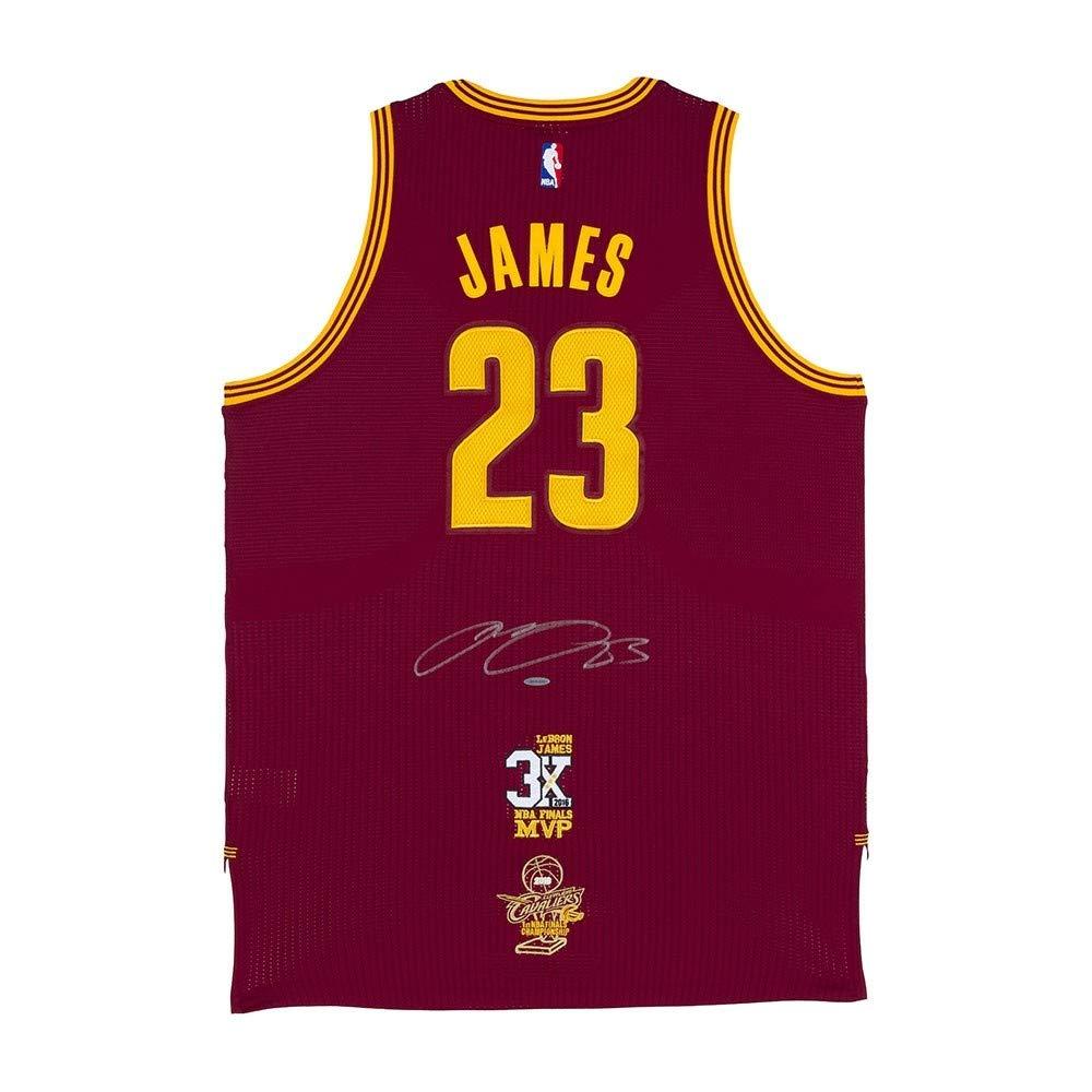 quality design 647a2 46e55 LeBron James Autographed Cleveland Cavaliers Authentic ...