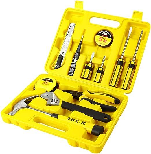 Caja de herramientas de 12 piezas Kit básico de herramientas para ...