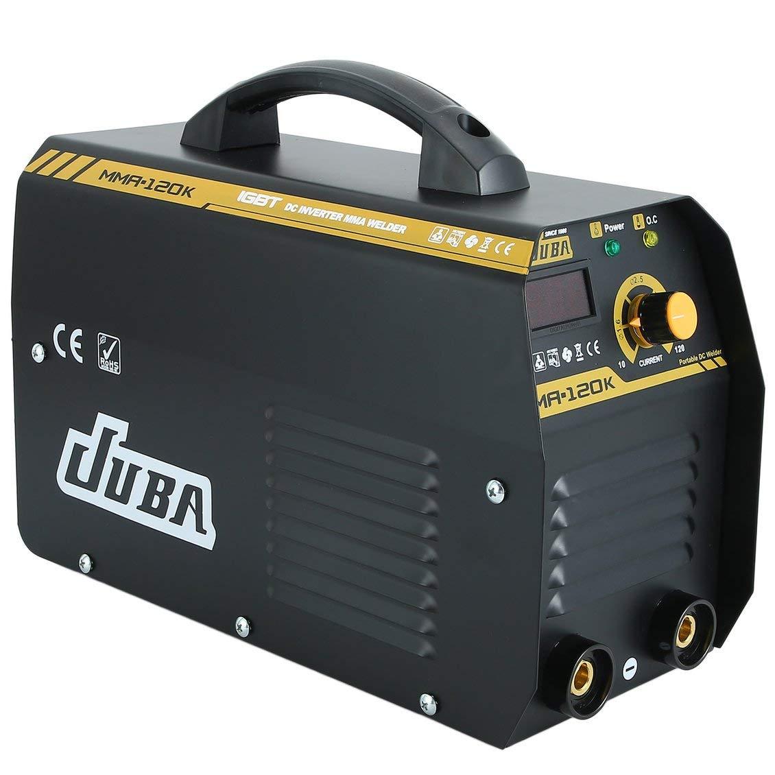 MMA-120 IGBT Electrodos Máquina soldadora inversora Máquina soldadora eléctrica profesional Equipo de soldadura MMA Socket de la UE: Amazon.es: Bricolaje y ...