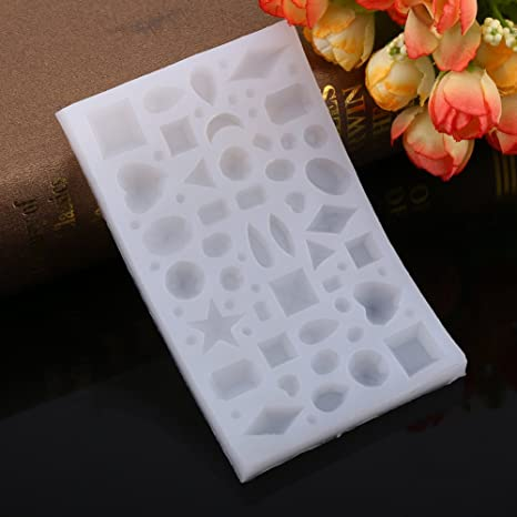 1 pc joyas para hacer molde de silicona para hornear de silicona multifuncional de joyería de