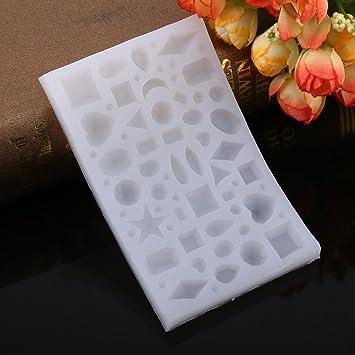1 pc joyas para hacer molde de silicona para hornear de silicona multifuncional de joyería de artesanías de resina de molde herramienta para hacer nuevos: ...