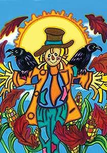 Toland Home Garden  Crow Buddy 28 x 40-Inch Decorative USA-Produced House Flag