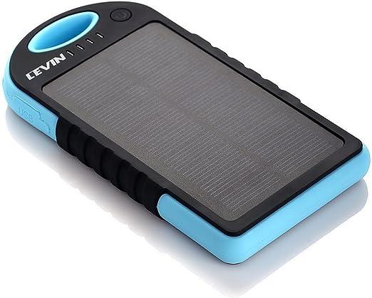 Cargador Solar Móvil 12000mAh,Levin Batería Externa Solar ...