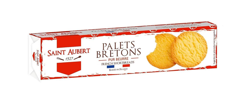 Saint Aubert Palet Breton de Mantequilla - 12 Paquetes de 125 gr - Total: 1500 gr: Amazon.es: Alimentación y bebidas