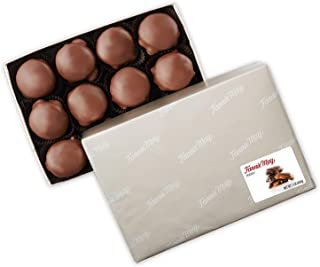 product image for Fannie May Pixies, Milk Chocolate Covered Caramel with Pecans, Chocolate Candy Gift Box, 1 lb