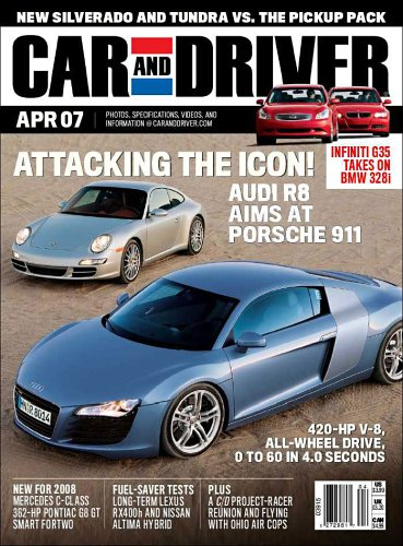 Car And Driver Amazoncom Magazines - Car and driver