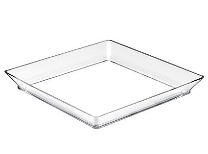 Plast Gold-Bandeja mediana Plate-Pack por 12 piezas