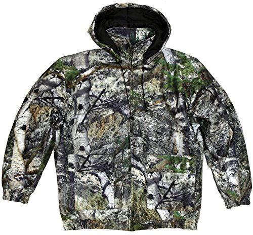 TrailCrest Kid's Insulated & Waterproof Hunters Tanker Jacket, Mossy Oak Camo Patterns, Small, Mountain Country