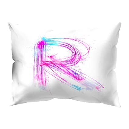 Amazon com: Wffo 26 Letter Pillowcase,Naughty Expression