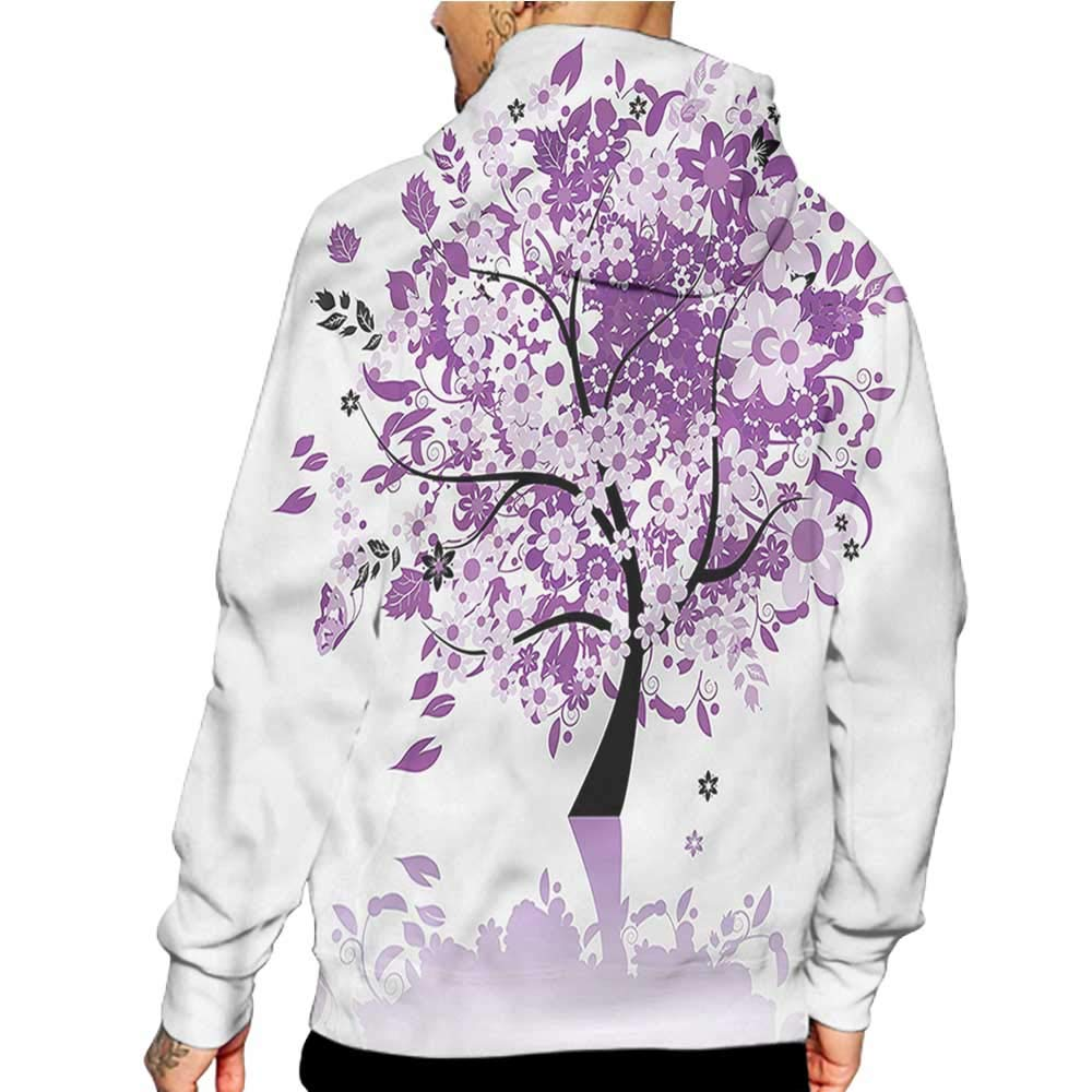 Hoodies Sweatshirt/ Men 3D Print Nature,Forest with Lake Botany,Sweatshirts for Women Hoodie Pullover