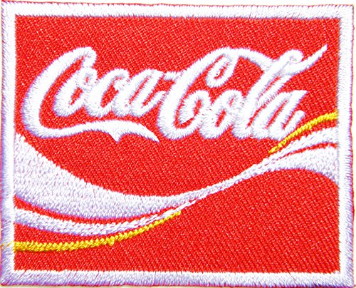 Enjoy Coca Cola Coke Soft Drink Logo Jacket T-shirt Patch Sew Iron on Embroidered Sign Badge Costume Clothing ()