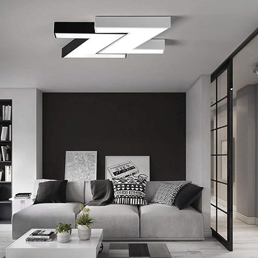 XHX Luces de techo, ideas modernas, pantalla de acrílico, alta ...