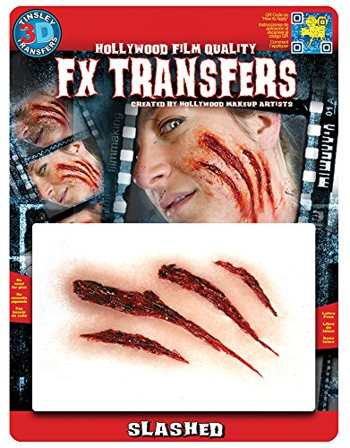 Tinsley Transfers MD Slashed 3D FX Temporary Tattoo