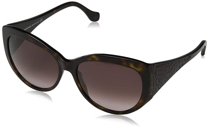 Amazon.com: Balenciaga anteojos de sol Para Mujer Acetato ...