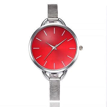Amazon.com: WM & MW Mujer Relojes, pulsera de acero ...