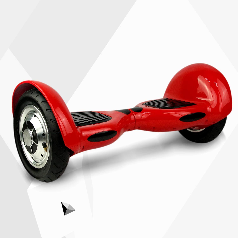 Rouge Markboard gyropode 10 Pouces Bluetooth Gyropode Scooter /Électrique Auto-/équilibrage