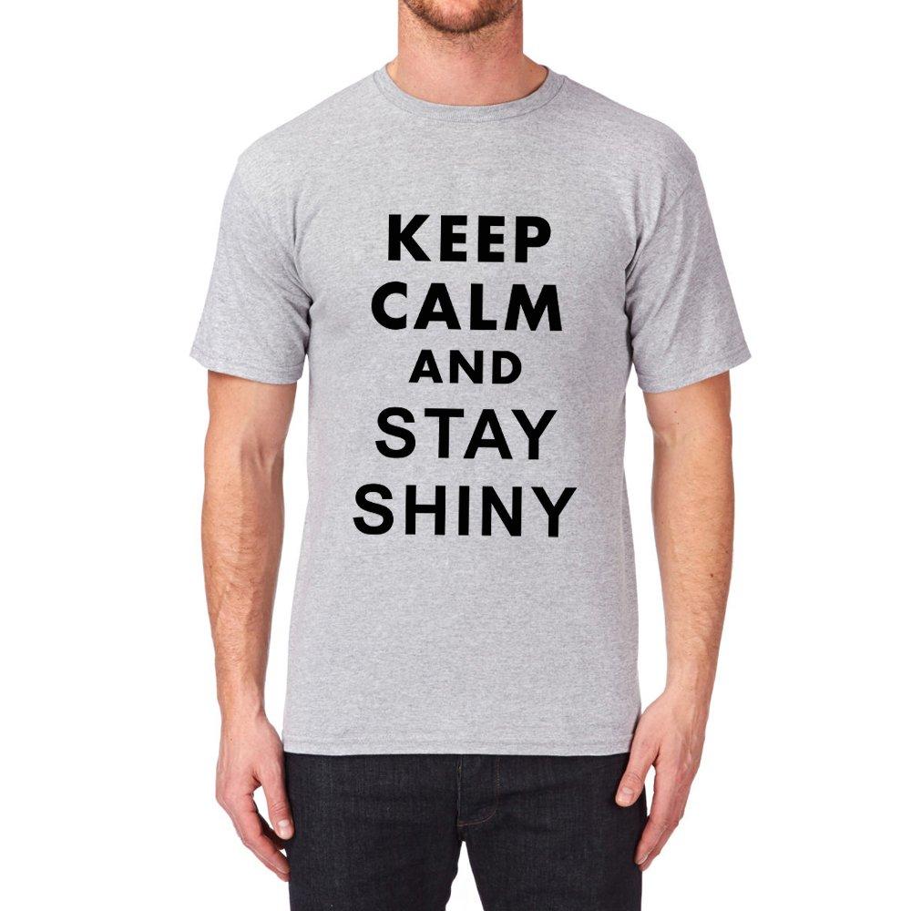 Loo Show Keep Calm And Stay Shiny T Shirt Tee