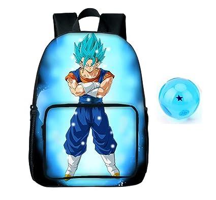 3Square Dragon Ball Z Mochila para niños Goku con Llavero ...