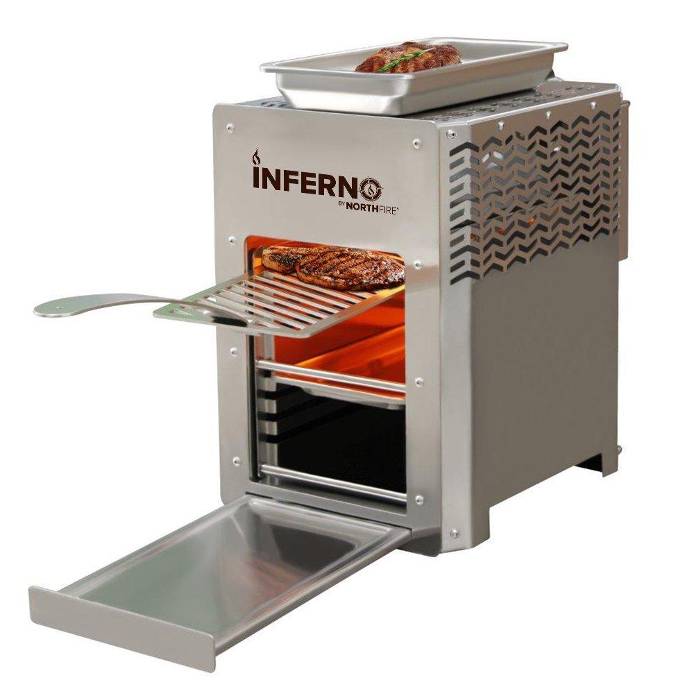 NORTHFIRE inferno Grill a infrarossi singolo propano