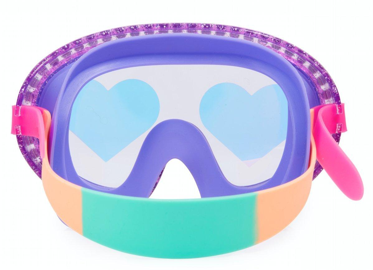/Rock Star Heart Swim Mask i Love Raspberries Bling2o/