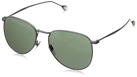 779da94f391 Gucci Small Aviator Sunglasses in Matte Ruthenium Grey Green GG 2256 S R81  55 55